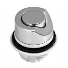 Кнопка включения ДЮНА металл хром